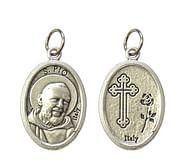 Medailón: sv. Páter Pio (G022s)