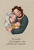 Pohľadnica: Svätá rodina