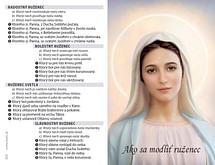 Skladačka: Ako sa modliť ruženec (Z029)