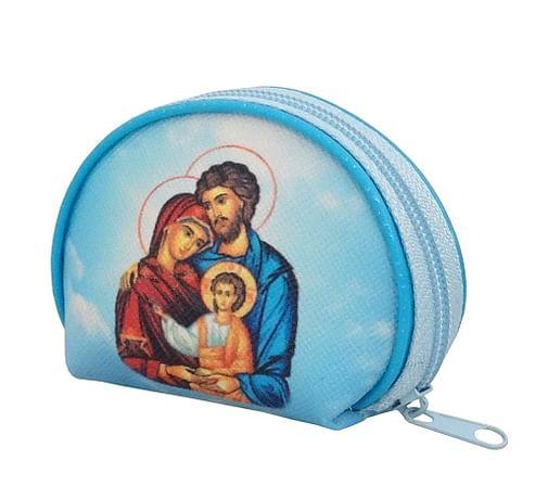Púzdro: na ruženec, zips - Svätá rodina - (XP006)