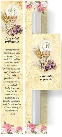 Sviečka: prvé sväté prijímanie (8496-3)