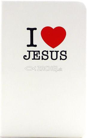 Zápisník: I love Jesus (A6)