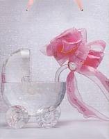 Darčeková taška: kočík - ružová (TOR1228)