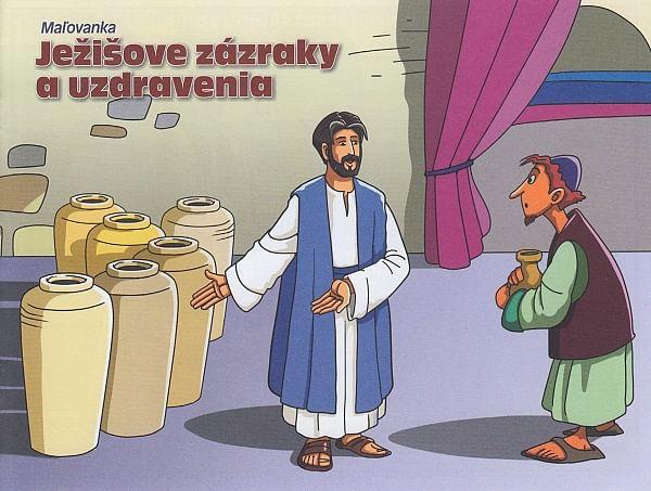 Maľovanka: Ježišove zázraky a uzdravenia