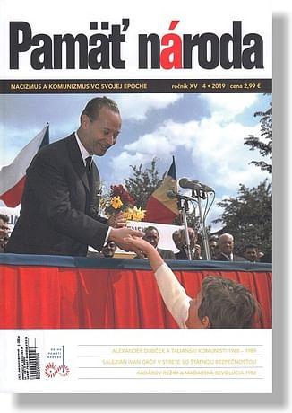 Časopis: Pamäť národa 4/2019