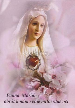Skladačka: Panna Mária, obrať k nám... (LV50)