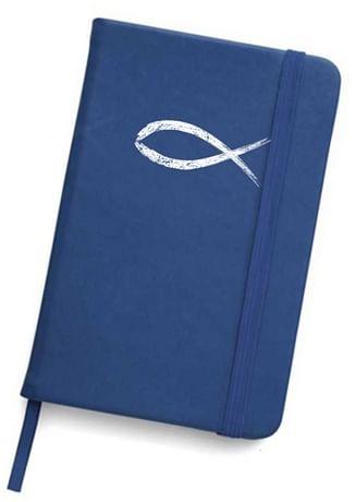 Zápisník: Rybka - modrý (A5)