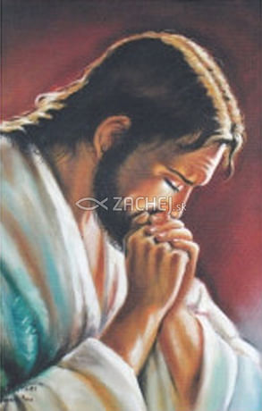 Kalendár: kartičkový - Modliaci sa Pán Ježiš - 2021 (ZAEX)