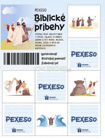 Pexeso: Biblické príbehy