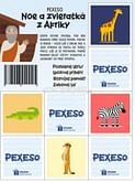 Pexeso: Noe a zvieratká z Afriky