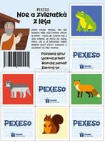 Pexeso: Noe a zvieratká z lesa