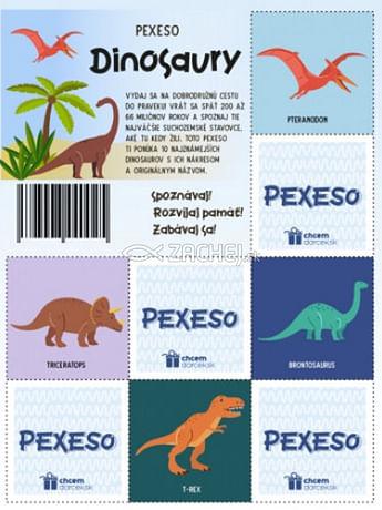 Pexeso: Dinosaury