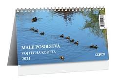 Kalendár: katolícky, stolový - Malé posolstvá Vojtěcha Kodeta 2021