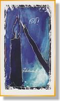 Pohľadnica: Zdravas... FIAT! modrá, bez textu (MH)