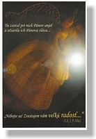 Pohľadnica: Anjel, bez textu (MH)