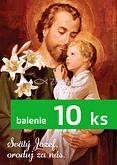 Balenie 10 ks: Modlitba k sv. Jozefovi