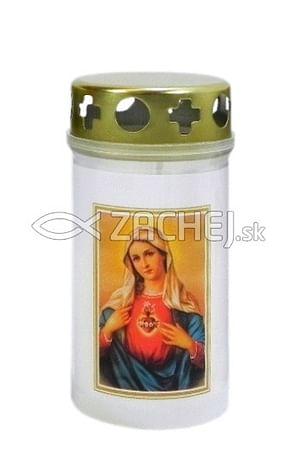 Kahanec: Nepoškvrnené Srdce Panny Márie, plastový - 11,5 cm