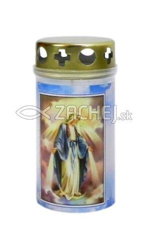 Kahanec: Panna Mária Zázračná medaila, plastový - 11,5 cm