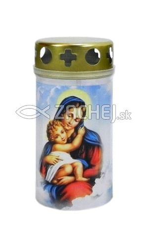 Kahanec: Panna Mária s dieťaťom, plastový - 11,5 cm