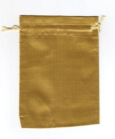 Vrecko: darčekové - zlaté (8168)