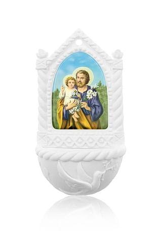 Svätenička: Svätý Jozef - alabaster (606-J)