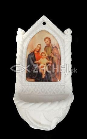 Svätenička: Svätá rodina - alabaster (606-6)