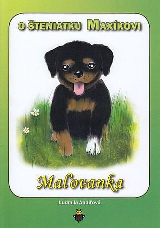 Maľovanka: O šteniatku Maxíkovi