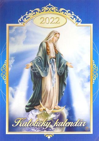 Kalendár: katolícky, nástenný - 2022 (Via)