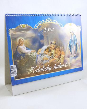 Kalendár: katolícky, stolový - 2022 (Via)