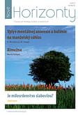 E-časopis: Nové Horizonty 3/2017