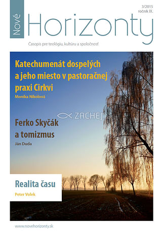 E-časopis: Nové Horizonty 3/2015
