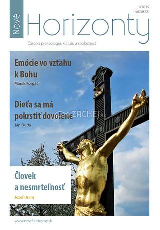 E-časopis: Nové Horizonty 1/2015