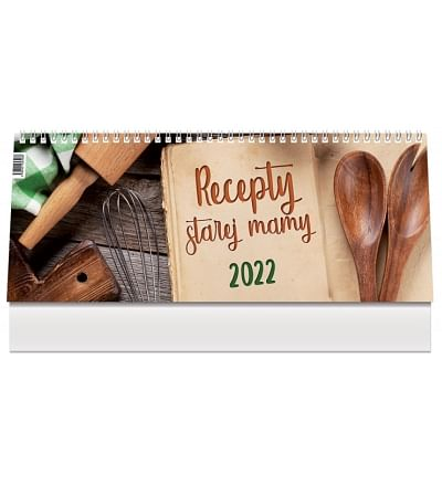 Kalendár: Recepty starej mamy, stolový - 2022 (PG)