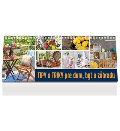 Kalendár: Tipy a triky, stolový - 2022 (PG)