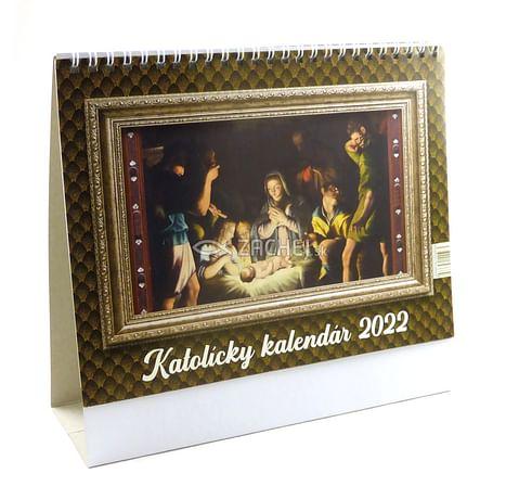 Kalendár: katolícky, stolový - 2022 (PG)