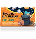 Kalendár: školský, stolový - 2021/2022 (PG)