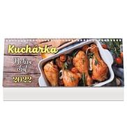 Kalendár: Kuchárka, stolový - 2022 (PG)