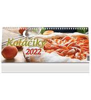 Kalendár: Koláčiky, stolový - 2022 (PG)