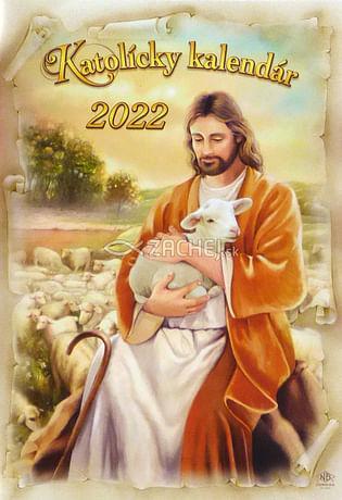 Kalendár: katolícky, nástenný - 2022 (ZAEX)