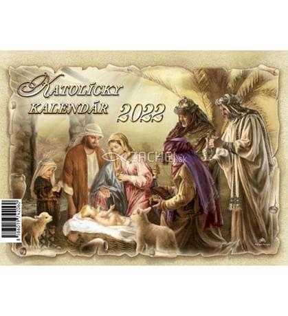 Kalendár: katolícky, stolový - 2022 (ZAEX)