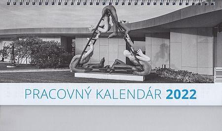 Kalendár: pracovný, stolový - 2022 (veľký/Neo)