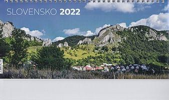 Kalendár: Slovensko, stolový - 2022 (Neo)