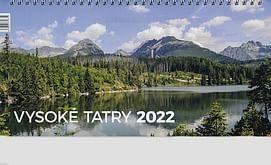 Kalendár: Vysoké Tatry, stolový - 2022 (Neo)