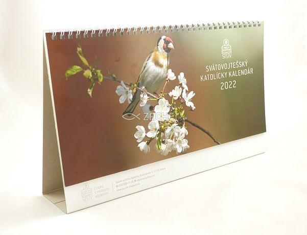Kalendár: katolícky, stolový - 2022 (SSV)