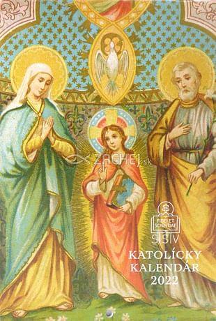 Kalendár: katolícky, nástenný - 2022 (SSV)