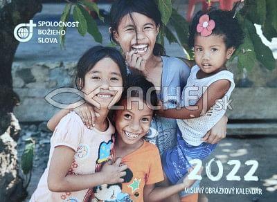 Misijný obrázkový kalendár 2022 (nástenný)