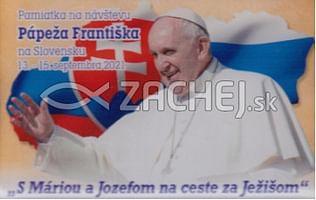 Magnetka: Pápež František na Slovensku