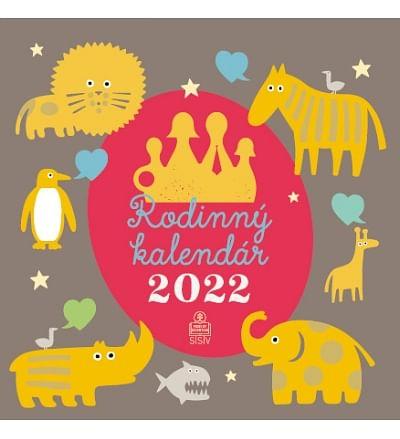 Kalendár: rodinný, nástenný - 2022 (SSV)