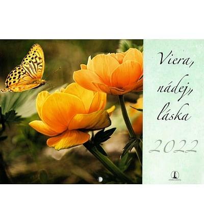 Kalendár: Viera, nádej, láska - nástenný - 2022