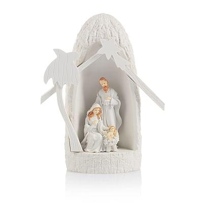 Betlehem: svietiaci - biely (KWA17001)